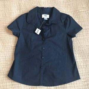 NWT Old Navy Button Down Shirt 5T